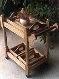Furniture Accents Trolley Cart & Tea Trays Originals